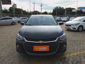 CHEVROLET ONIX 1.0 TURBO PLUS LTZ Preto 2020