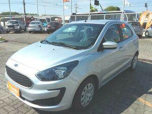 Ford KA 1.0 Tivct SE 12V Prata 2019