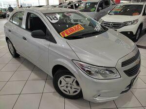 Chevrolet Onix 1.0 LT 8V Prata 2016