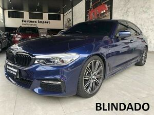 BMW 540i 3.0 M Sport Turbo Azul 2019