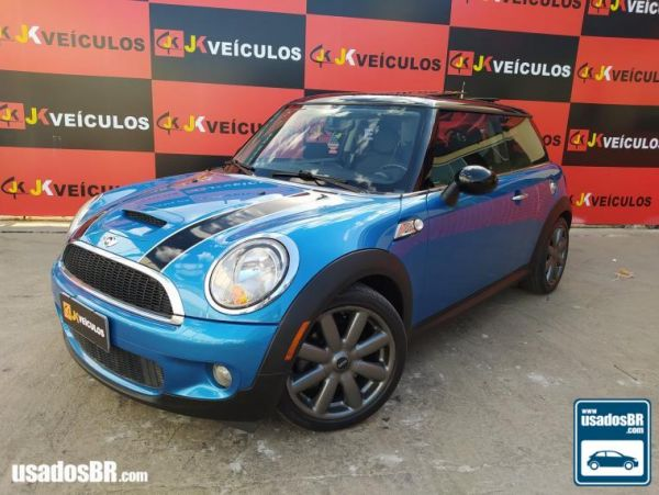 MINI COOPER 1.6 S TURBO Azul 2008