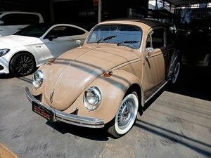 Volkswagen Fusca 1.5 8V Bege 1971