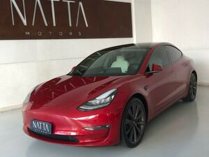 Tesla Model 3 Elétrico AWD Performance Vermelho 2019