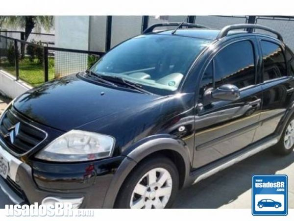 CITROËN C3 1.4 I XTR 8V FLEX 4P MANUAL Preto 2011