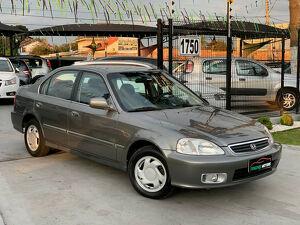 Honda Civic 1.6 EX Cinza 2000