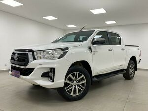 Toyota Hilux 2.7 SRV Branco 2019