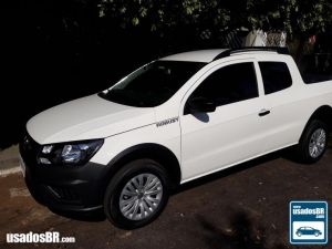 VOLKSWAGEN SAVEIRO CD 1.6 ROBUST Branco 2020