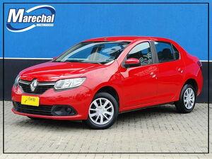 Renault Logan 1.0 Expression Vermelho 2014