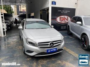 MERCEDES-BENZ A 200 1.6 TURBO Prata 2013