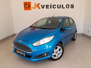 Ford Fiesta 1.5 SE 16V Azul 2014