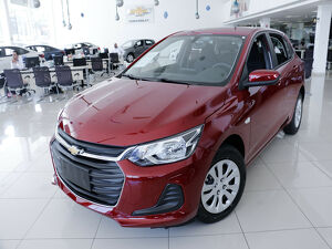 Chevrolet Onix 1.0 LT 12V Vermelho 2022