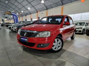 Renault Logan 1.6 Expression Vermelho 2013