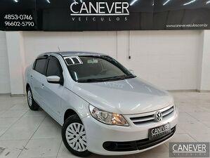 Volkswagen Voyage 1.0 Prata 2011