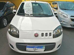 Fiat Uno 1.0 Evo Vivace 8V Branco 2016