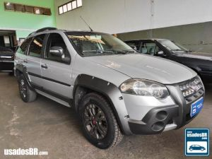 FIAT PALIO WEEKEND 1.8 ADVENTURE 16V Prata 2012
