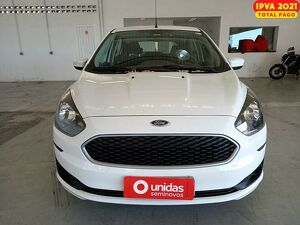 Ford KA 1.0 Tivct SE 12V Branco 2019