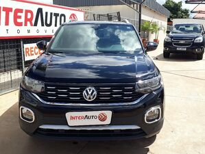 Volkswagen T-cross 1.4 250 TSI Highline Preto 2020