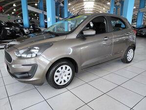 Ford KA 1.0 SE Plus 12V Cinza 2020