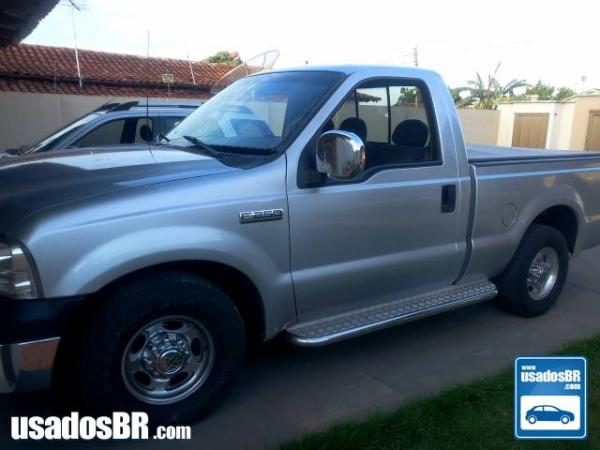 Foto do veiculo FORD F-250 4.2 XLT Prata 2005