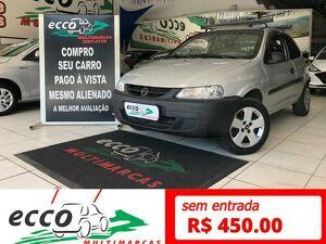 Chevrolet Celta 1.0 8V Prata 2001