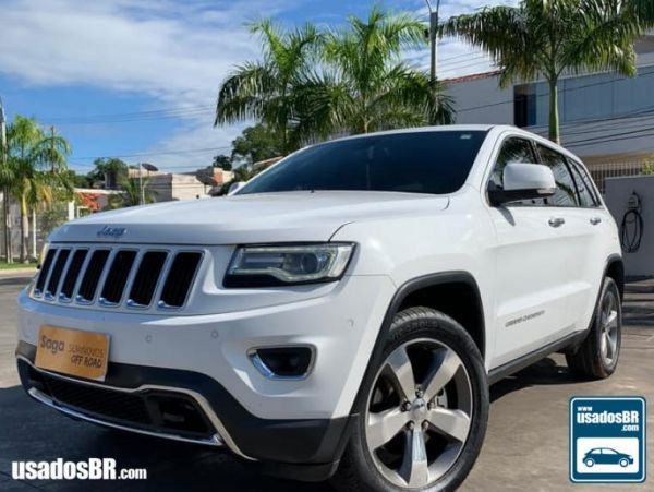 JEEP GRAND CHEROKEE 3.6 LIMITED V6 Branco 2015