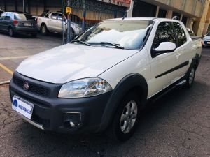 FIAT STRADA CD 1.4 HARD WORKING Branco 2019