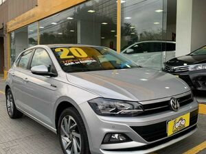 Volkswagen Polo Hatch 1.0 200 TSI Highline Prata 2020