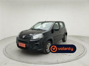 Fiat Uno 1.0 Evo Attractive 8V Preto 2020
