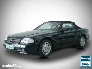 MERCEDES-BENZ SL 600 6.0 V12 Preto 1994
