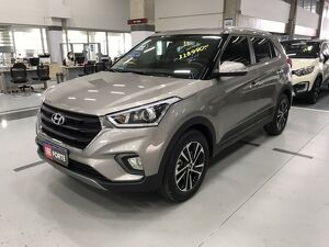 Hyundai Creta 2.0 Prestige Prata 2021