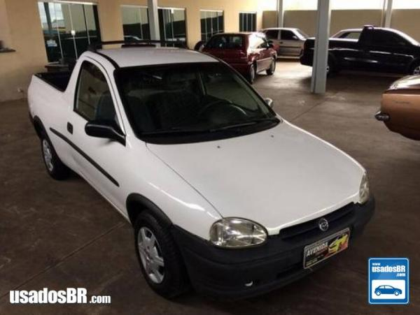 CHEVROLET CORSA 1.6 MPFI STD CS PICK-UP 8V GASOLINA 2P MANUAL Branco 1998