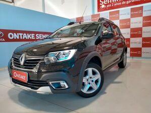 Renault Sandero 1.6 16V SCE Stepway ZEN Prata 2020