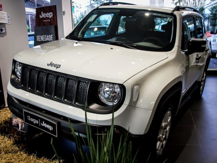 Jeep Renegade 1 8 Sport Branco 2020 2020 Goiania 1025636