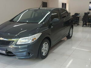 Chevrolet Onix 1.0 LT 8V Cinza 2017