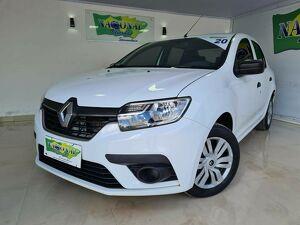 Renault Logan 1.0 Authentique Branco 2020