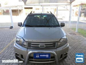 FORD ECOSPORT 1.6 FREESTYLE Prata 2011