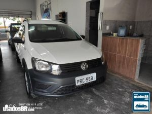VOLKSWAGEN SAVEIRO CD 1.6 ROBUST Branco 2018