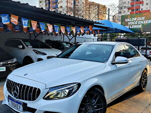 Mercedes-benz C 180 1.6 CGI Avantgarde Turbo Branco 2015