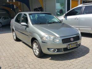 Fiat Siena 1.4 ELX Attractive 8V Cinza 2009