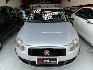 Fiat Palio Weekend 1.8 Trekking 8V Prata 2010