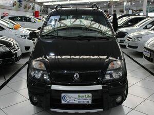 Renault Scénic 1.6 16V Preto 2007