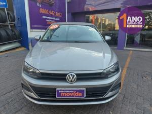 Volkswagen Polo Sedan 1.6 8V Prata 2020