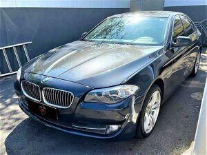 BMW 530i 3.0 24V Cinza 2013