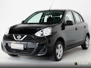 Nissan March 1.0 S Preto 2015
