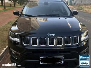 JEEP COMPASS 2.0 LONGITUDE Preto 2018