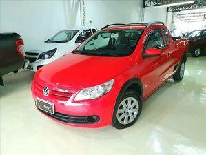 Volkswagen Saveiro CE 1.6 Vermelho 2012