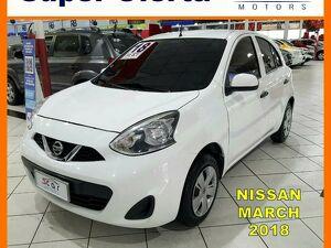 Nissan March 1.0 S Branco 2018