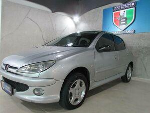 Peugeot 206 1.4 Moonlight Prata 2008
