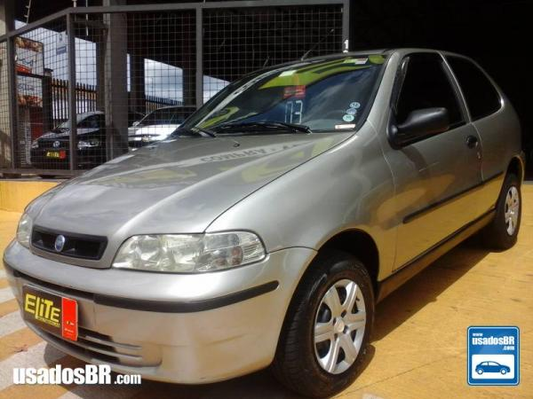 Foto do carro FIAT PALIO 1.0 MPI ELX 8V GASOLINA 2P MANUAL Cinza 2003
