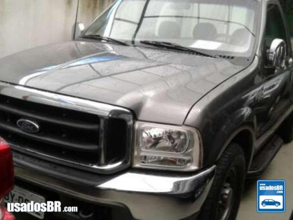 Foto do veiculo FORD F-250 4.2 XLT Cinza 2000